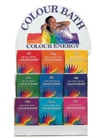 Colour Energy® BATH Packets - Red, Orange, Yellow, Green, Blue, Indigo, Violet, Turquoise, Pink